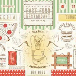 Tovaglietta carta alimentare