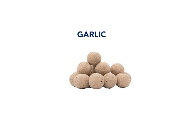 boiles garlic